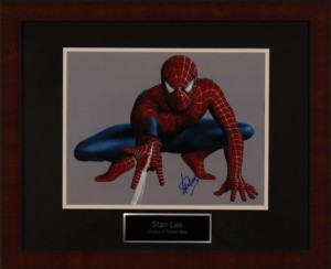 Silent-Auction-Items-Stan-Lee-Spiderman
