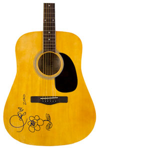 Charity Auction Items - Autographed Guitars -Taylor Swift Guitar