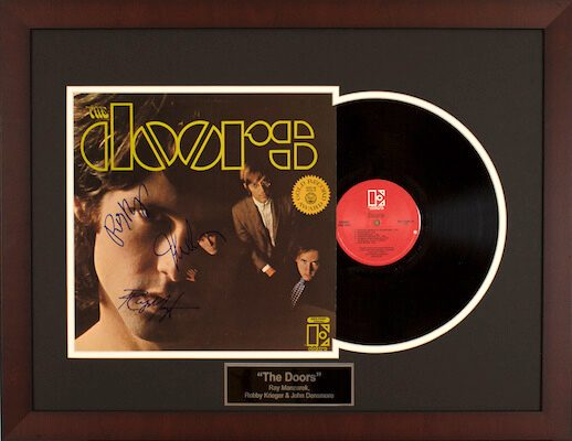 Charity Auction Items - Autographed Record Albums - The Doors