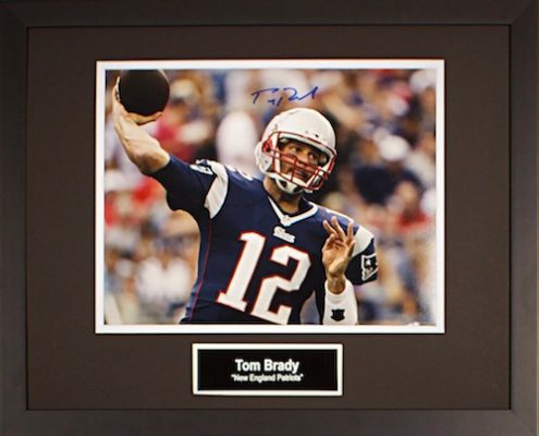 Charity Auction Items - Autographed Sports Memorabilia - Tom Brady 11x14 Photo