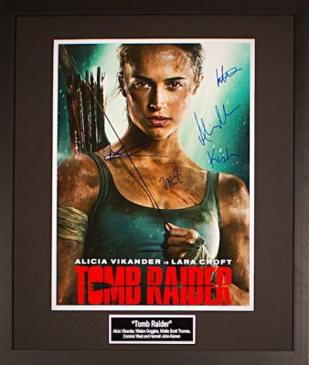 Charity Auction Items - Tomb Raider 16x20 Movie Poster