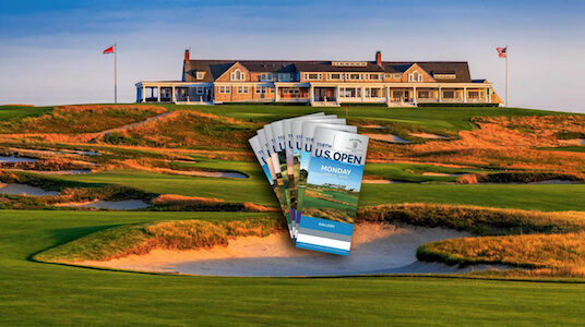 Charity Auction Items - VIP Experiences & Vacation Packages -US Open Golf Tournament
