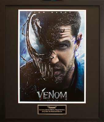 Charity Auction Items - Autographed 16×20 Movie PostersVENOM A