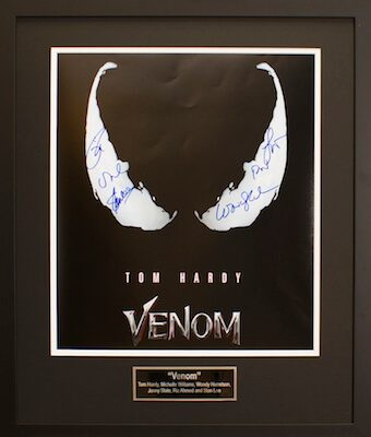 Charity Auction Items - Autographed 16×20 Movie PostersVENOM B
