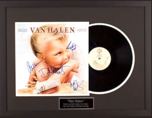 Charity Auction Items - Autographed Record Albums - Van Halen
