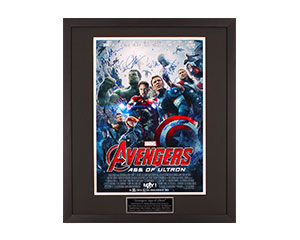 Autographed 16x20 Movie Posters