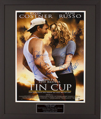 Charity Auction Items - Autographed Celebrity Photos - Tin Cup